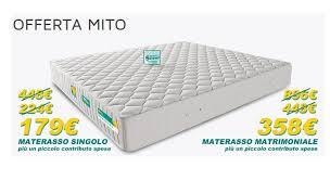 prezzo materasso eminflex materassi eminflex e sconti promozionali