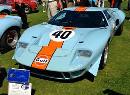 gulf gt40 ford gt40 golden anniversary amelia island car guy chronicles