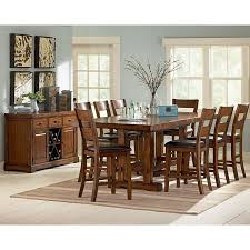 zappa counter height dining room set steve silver furniture