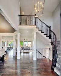 Home Interior Decorators by 2 Story Entry Way New Home Interior Design Open Floor Plan