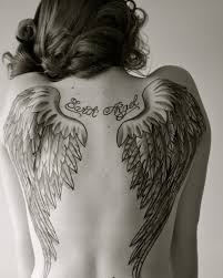 back tattoos wings i like the shape of the wings but i would want them longer down my