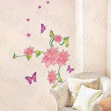 flowers u0026 fields wall decals stickers appliques home decor