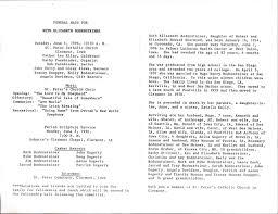 sle of funeral programs february 2012 ken bodensteiner