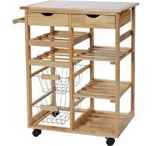 argos kitchen furniture buy home pine tile top kitchen trolley at argos co uk your