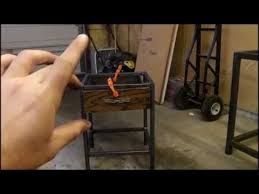 building industrial nightstand prototype youtube