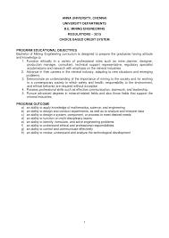 cbcs mining syllabus docsity