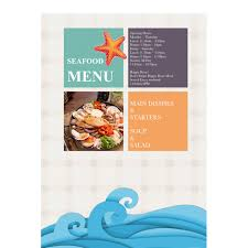 menu publisher template menu templates sles menu maker publisher plus