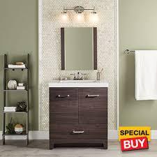 Bathroom Stylish Shop Vanities Vanity Cabinets At The Home Depot - Home depot bathroom vanities sale