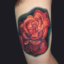 mike devries tattoos color