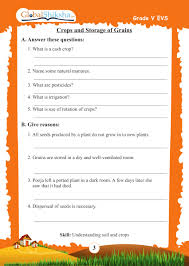 buy worksheets for class 5 maths environmental science evs