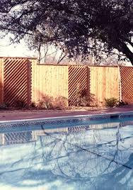 lattice fencing isom fence company