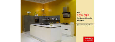 sleek kitchens by asianpaints chimanlal girdharlal road