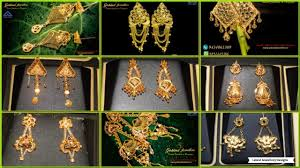 bengali gold earrings top 30 bengali gold earrings collection