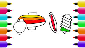 how to draw lanterns coloring pages for kids drawing and art