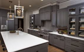 Stylish Ways To Work With Gray Kitchen Cabinets - Images of cabinets for kitchen