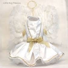 White Angel Halloween Costume Handmade Angel Halloween Costumes Dogs