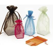 organza favor bags sheer cardboard bottom organza bags favor bags box and wrap