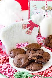 caramel stuffed chocolate cookies eazy peazy mealz