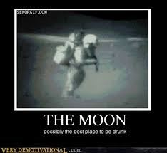 Moon Meme - animated gif break dancing on the moon is hardcore meme frontier