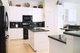 Kitchen White Cabinets Black Appliances 36 Beautiful White Luxury Kitchen Designs Pictures