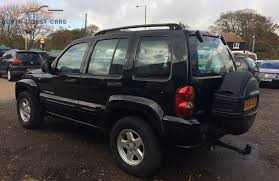 liberty jeep 2004 jeep cherokee limited crd a south coast cars and commercials