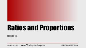 sat math fractions ratios and proportions youtube