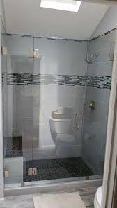 in line shower enclosures frameless shower doors