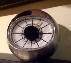 Herman Miller Clock Irving Harper Nelson Howard Miller Eye Ball Clock The Ebay