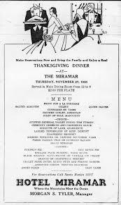 classic restaurant thanksgiving menus kcet