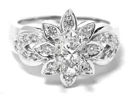 Flower Wedding Ring by Flower Diamond Wedding Ring Inspirations U2013 Bridalore
