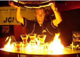 martinis file how to pour 5 martinis at the same time while on fire jpg