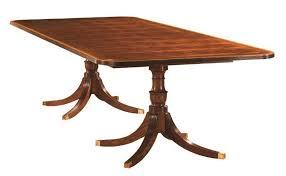 Henkel Harris  X  Rectangular Dining Table HHA - Henkel harris dining room table