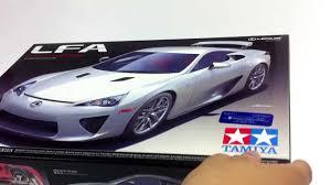 lexus lfa kit tamiya 1 24 lexus lfa unboxing youtube