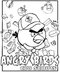 akela u0027s council cub scout leader training angry birds coloring