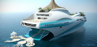 tropical island paradise your very own portable tropical island a new super yacht with its