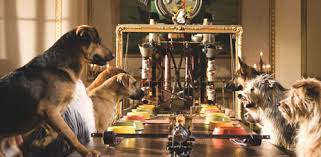 dogs at dinner table film education resources hotel for dogs activities canine