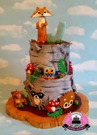 woodland creatures baby shower woodland animals baby shower cake cake by cakes rock cakesdecor