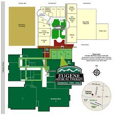 Physical Therapy Clinic Floor Plans Eugene Physical Therapy Interoffice Map