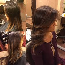 Light Brown Balayage Redlands Hair Stylist Style Change From Blonde Ombre Highlights To