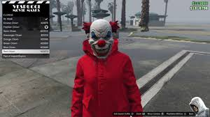 gta 5 online killer clown from the movie it easy youtube