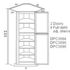 Measurements Of Kitchen Cabinets How To Build A Corner Pantry For When I U0027m No Longer Renting