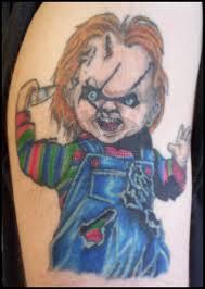 trendy chuckie horror tattoo design for girls picsmine