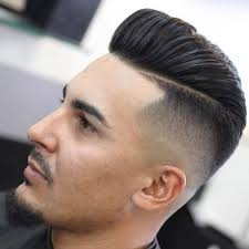 pompadour hairstyle pictures haircut pompadour fade with line 27 popular haircuts for men 2018 mens
