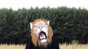 lion deluxe latex mask with hair halloween masks