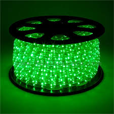 led rope light blue green white