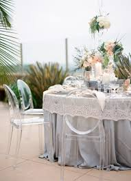 renting tablecloths for weddings carolyn lace chagne overlay with homestead table linens