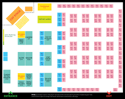event floor map u0026 directory creators super fest