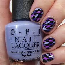 shades of purples 40 great nail art ideas 3 shades of purple geometric rhomboids
