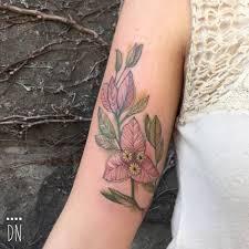 some soft bougainvilleas for abi tattoo artist dino nemec