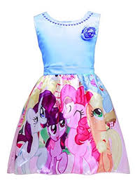 amazon com lemonbaby my little pony sleeveless princess birthday